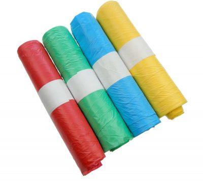 HDPE-zakken 4 kleuren